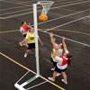 Harrod UK Wheelaway International Netball Posts