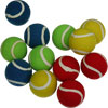 PLAYM8 Coloured Tennis Ball 12 Pack 6.5cm
