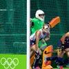 Harrod UK Rio 2016 Integral Weighted Hockey Goal Posts