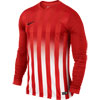 Nike Striped Division II Long Sleeve Junior Football Jersey