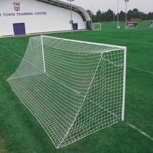 Harrod UK Socketed Heavyweight Steel Football Posts 24ft x 8ft
