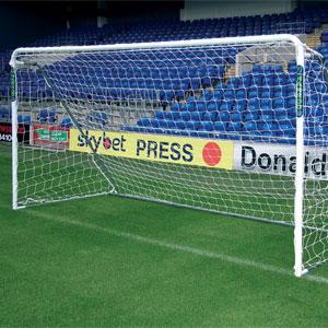 Harrod UK Supa 7 Steel Football Post 12ft x 6ft