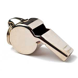 Ziland Pro Brass Whistle