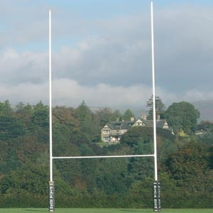 Harrod UK Socketed No1 Steel Rugby Posts