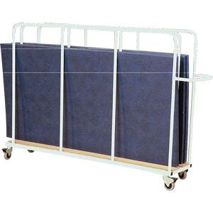 Harrod UK Vertical Mat Trolley