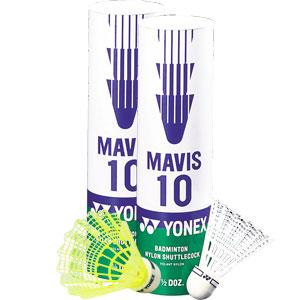 Yonex Mavis 10 Shuttlecocks 6 pack