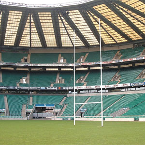Harrod UK Millennium Hinged Rugby Posts