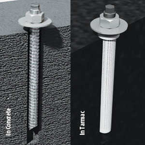 Harrod UK Chem Bolt Shelter Anchors