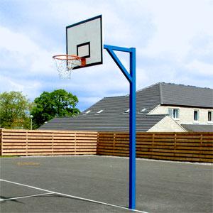 Harrod UK Socketed Heavy Duty Basketball Goals Regulation Set