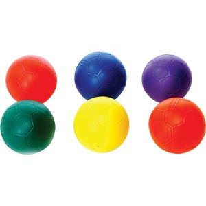 PLAYM8 Non Sting Football 6 Pack 21cm