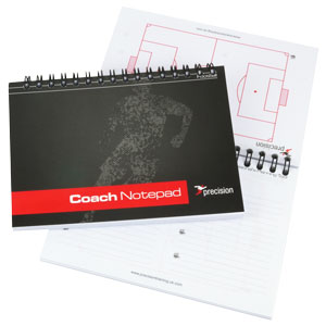Precision Training A6 Football Coaches Notepad