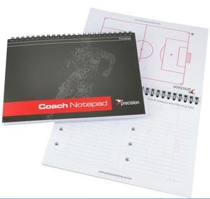 Precision Training A5 Football Notepad