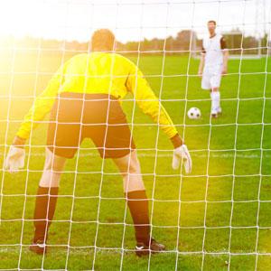 Harrod UK 3G Euro Football Portagoal Nets 21ft x 7ft