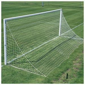 Harrod UK 3G Lock Socketed Park Football Posts 21ft x 7ft
