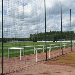 Harrod UK Perimeter Netting, Poles and Sockets