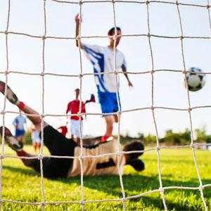 Harrod UK Standard Profile Football Nets 24ft x 8ft