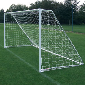 Harrod UK Folding Steel Football Posts 16ft x 6ft