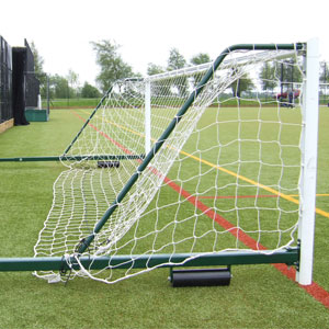 Harrod UK 3G Fence Folding Football Posts 5 v 5