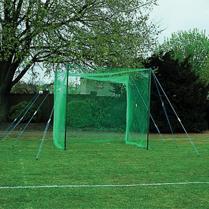 Harrod UK Wooden Pole Golf Enclosure