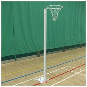 Harrod UK Floor Fixed International Netball Posts