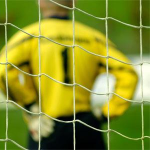 Harrod UK Heavy Duty Galvanised Football Post Nets 12ft x 6ft