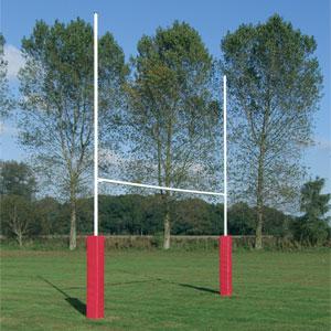 Harrod UK Socketed No3 Steel Rugby Posts