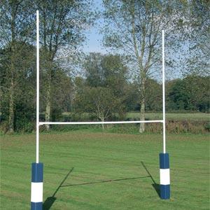 Harrod UK Hinged Heavy Duty Rugby Posts