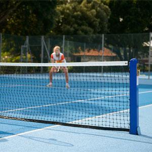 Harrod UK P17 Socketed Mini Tennis Net
