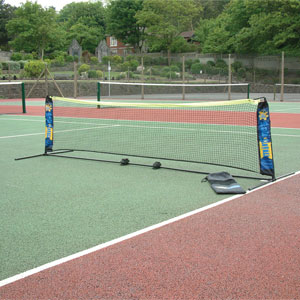 Harrod UK Foldaway PVC Mini Tennis Net and Post Set