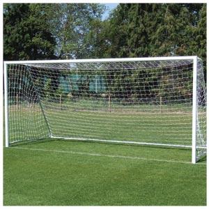 Harrod UK Folding Aluminium Football Posts 12ft x 6ft
