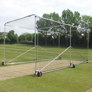 Harrod UK Portable Aluminium 6 Wheel Premier Cricket Cage