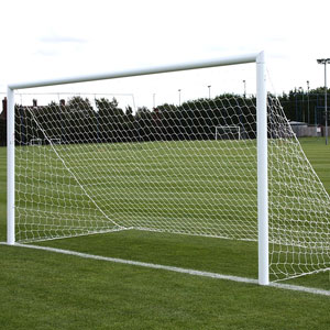 Harrod UK 3G Lock Socketed Park Football Posts 16ft x 7ft