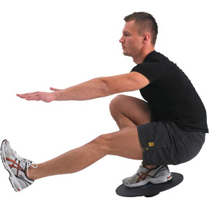 Fitness Mad Adjustable Wobble Board