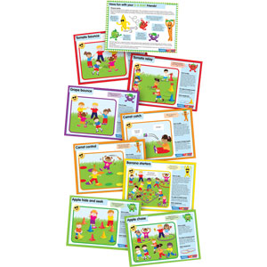 PLAYM8 5 A Day Character Cards 9 Pack