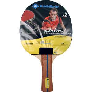 Schildkrot Alan Cooke Hobby Table Tennis Bat