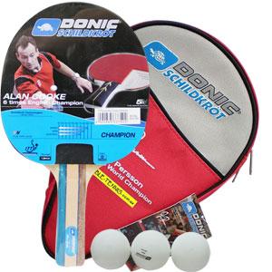 Schildkrot Alan Cooke Champion Table Tennis Set