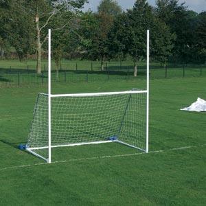 Harrod UK Freestanding Steel Junior Gaelic Football Posts
