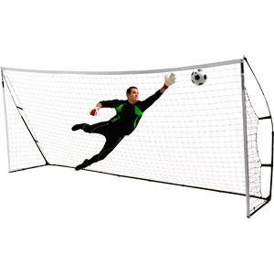 Quickplay Kickster Academy Portable Football Goal 16ft x 7ft