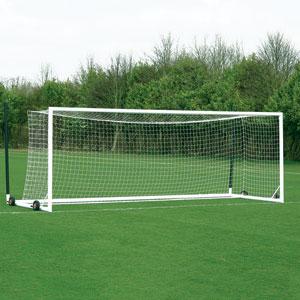 Harrod UK 3G Euro Football Portagoals 21ft x 7ft