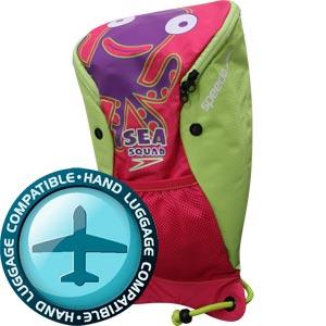 Speedo Sea Squad Rucksack Pink/Green