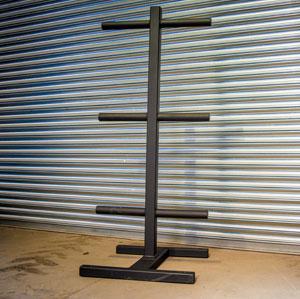 BeaverFit Freestanding Plate Storage
