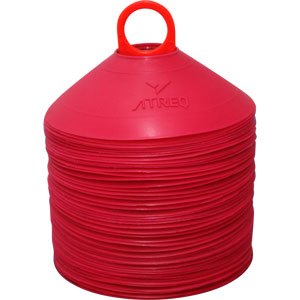 ATREQ Marking Cones 50 Set Red