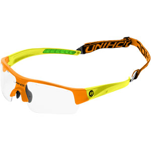 Unihoc  Floorball Victory Young Neon Glasses