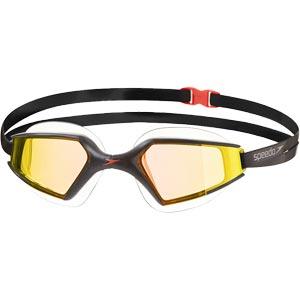Speedo Aquapulse Max Mirror 2 Goggles Black/Orange Gold