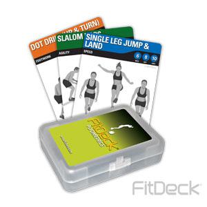 FitDeck Plyometrics Cards