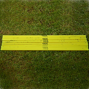 Mitre Super Space Marker Poles 10 Set