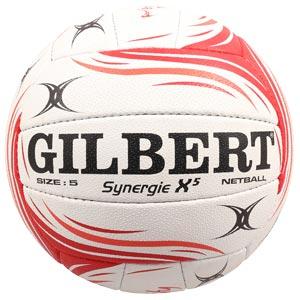 Gilbert Synergie X5 England Match Netball