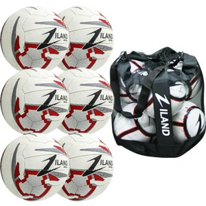 Ziland Pro Training Netball 6 Pack