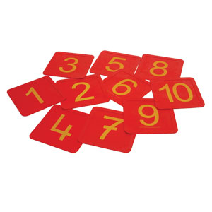 First Play Number Squares 10 Pack