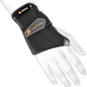 Shock Doctor Wrist Sleeve Support Wrap